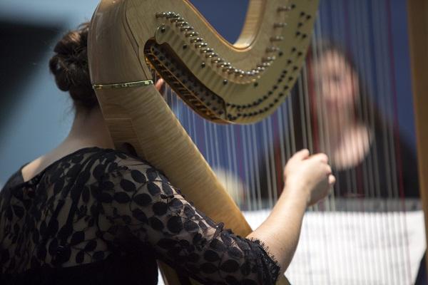Performance at The Rothko Chapel, Houston, TX