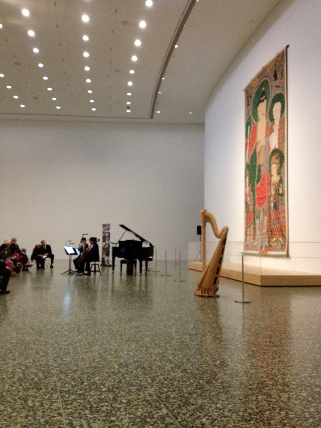 Performance at Museum of Fine Arts Houston: Monet & the River Seine Exhibit