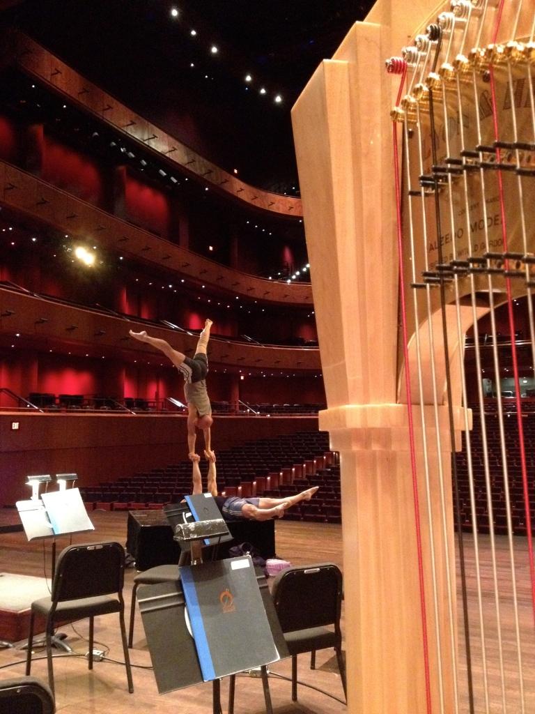 Cirque de la Symphonie with the San Antonio Symphony, May 2015