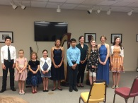 Ms. Klein's studio recital